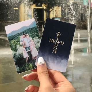 Personalised Hesed Wisdom Photocards // Valentine's Day Gifts // Vday Gifts 2018 // Presents / Birthday / Family / Friends / Anniversary / Proposal