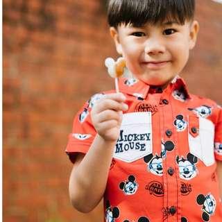Disney Mickey Shirt (4 - 8Y)