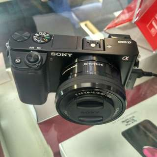 Sony A6000 Kit 16-50mm Kredit mudah
