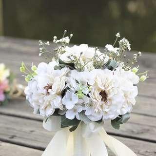 Dupont Velvet Faux Flower Bouquet