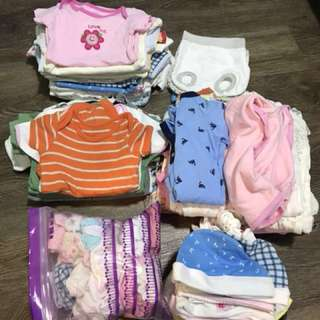 Preloved Bag of Clothes for Baby Girl