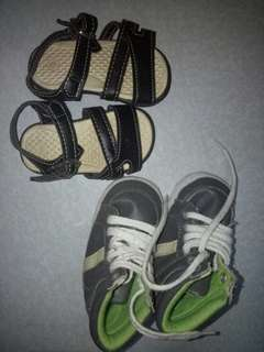 Infant shoes and Sandals