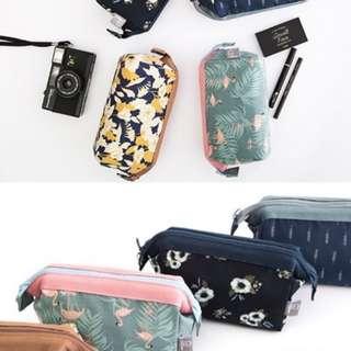 Waterproof cosmetic pouch