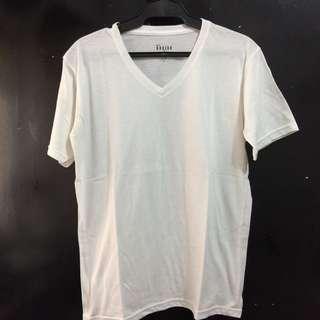 Men's Basic White Undershirt