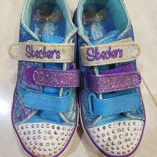 Skechers blue twinkle toes shoes