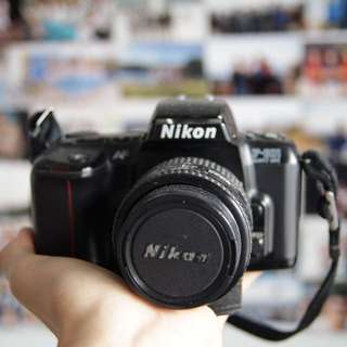 Nikon Film Camera W zoom lens
