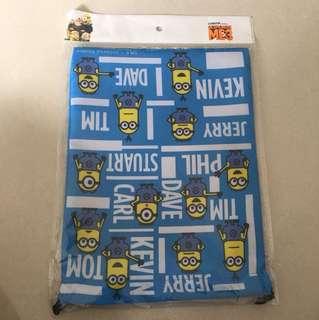 Limited Japan Minion Drawstring Bag