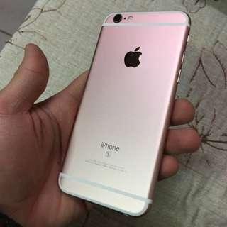 🚚 iPhone 6s 玫瑰金 64g