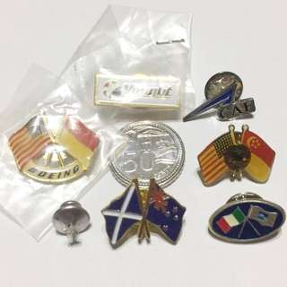 Asian Aerospace 1994 Lapel/ Collar Pins