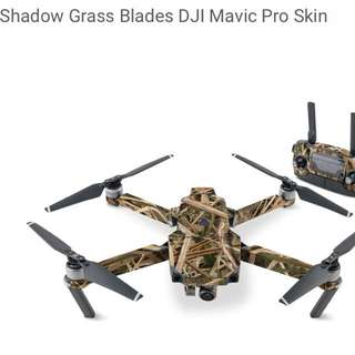 Shadow Glass Blades DJI Mavic Pro Skin