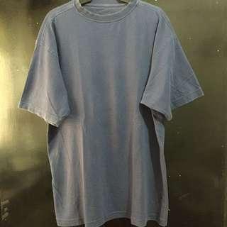 Navy Blue Plain Tee XL