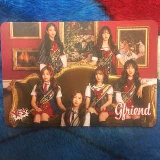 Gfriend團 Yes card