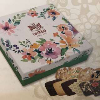 Lucullus Floral Chocolate & Cookie Gift Box                   龍島花漾盛放朱古力及曲奇禮盒