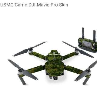 USMC Camo DJI Mavic Pro Skin