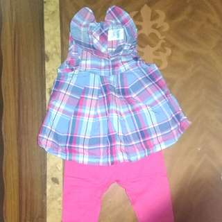 Baby Dress & legging