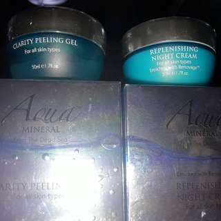 Clarity peeling gel & Night replenishing cream (set) with (2) Free H&M vouchers