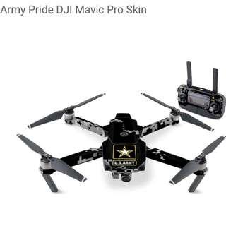Army Pride DJI Mavic Pro Skin