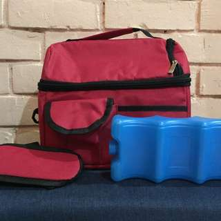 Cooler bag & ice brick