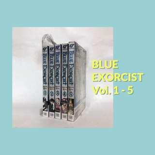 Blue Exorcist Manga Set - Volumes 1 2 3 4 & 5