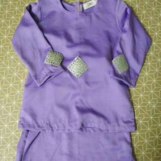 baju kurung for girls