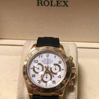 Rolex 16518 膠帶金扣