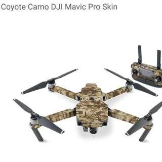 Cayote Camo DJI Mavic Pro Skin