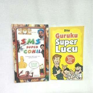 PAKET: Buku humor 6ribu 2 pcs