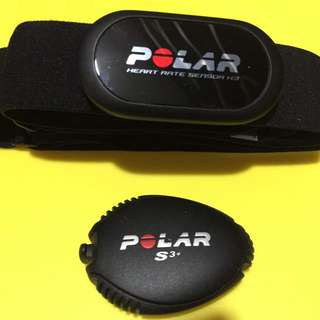 Polar Heart Rate Monitor And Foot Pod (s3)
