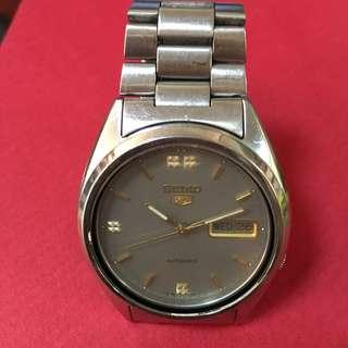 Seiko 5 Grey Watch