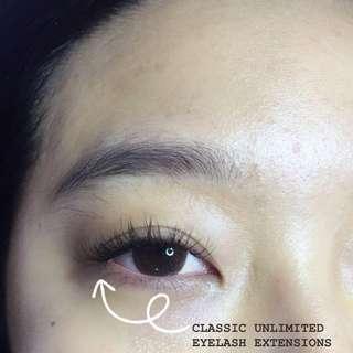 Single Strand Eyelash Extensions