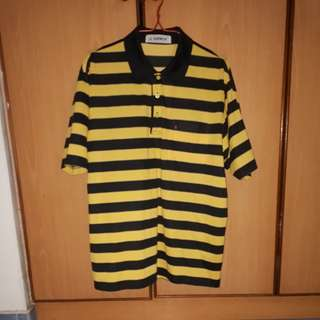 Banroy yellow & black strip top