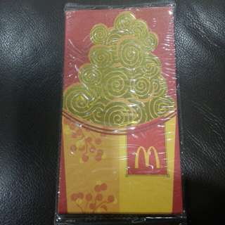 🆕McDonald's® Curly Fries Red Packet