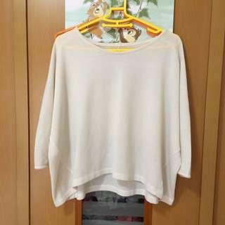 🚚 GU白色上衣