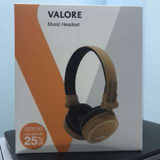 Valore Music Headset