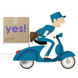 islandwide delivery services rider