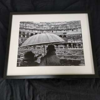 40x50cm Photo Frame (w/Photo @ Rome Colosseum)