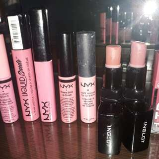 Lipstick / lip gloss/ lip creme (TAKE ALL FOR ONLY 800)