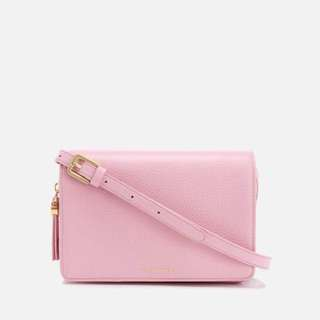 Lulu Guinness Cross Body Bag - Rose Pink
