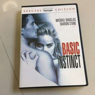 Basic instinct special edition Sharon stone dvd Paul Verhoeven