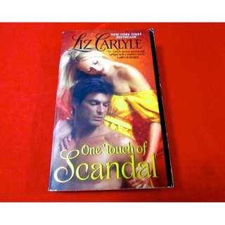 One Touch of Scandal by Liz Carlyle