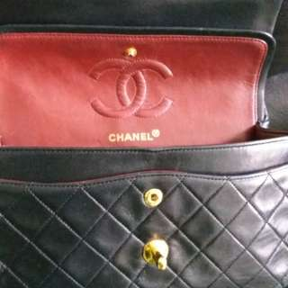 100%Real Vintage Chanel classic bag