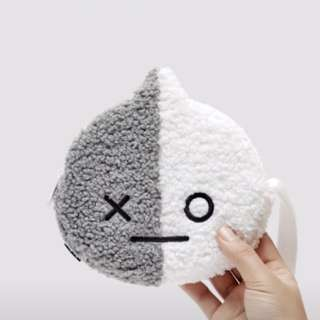 [READYSTOCK} BT21 VAN BOUCLE POUCH