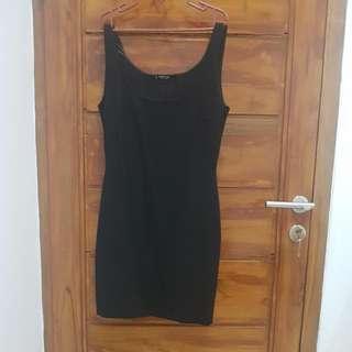 Basic Black Mango Dress Original