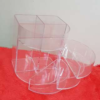 Acrylic organizer / brush holder / jewelry organizer