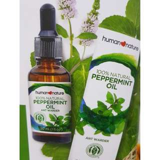 Peppermint Oil Ant Warder 30ml by HUMAN❤NATURE