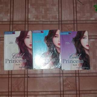 COLD PRINCESS BOOK 1 - 3