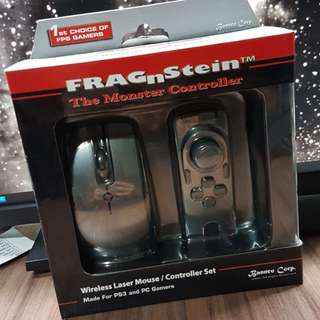 FragNstein controller for PS3 and PC