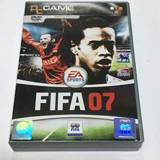 1DVD•30% OFF GREAT CNY GIFT/SALE {PCGAME - DVD EDITION} EA SPORTS : FIFA07 - PC DVD-ROM