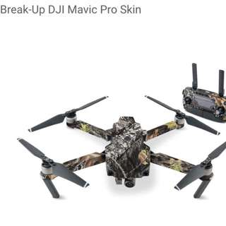 Break-Up DJI Mavic Pro Skin