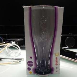 可口可樂玻璃杯 - 薰衣紫